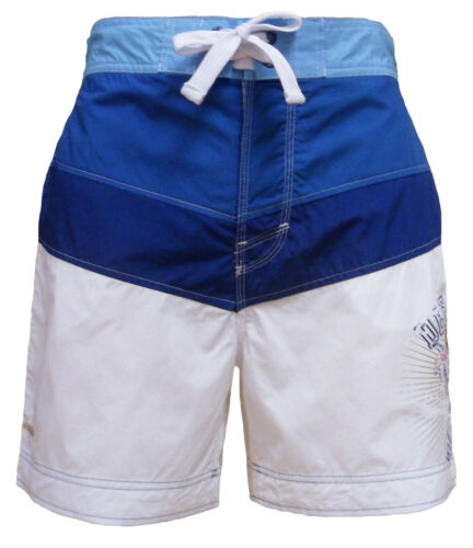 Da Uomo Defecto Omu 515 CASUAL ESTATE SPIAGGIA SURF Boad Swim Pantaloncini S M L /& XL