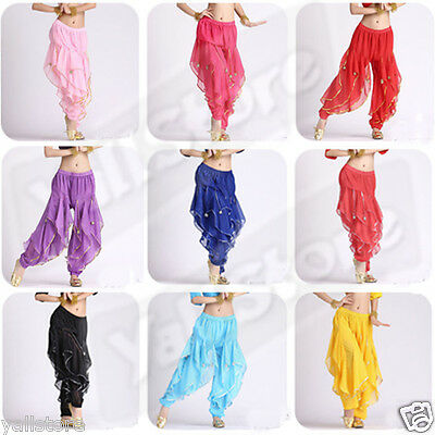 Belly Dance costume trousers bloomers Gypsy style Harem Halloween Pants