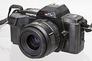 Olympus-OM77AF-35mm-SLR-with-Olympus-35-70mm-f-3-5-4-5-Lens-for-Parts-or-Repair