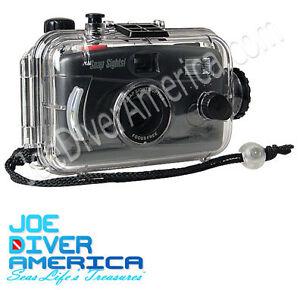 Underwater-Camera-Snap-Sights-100-039-Snorkel-or-Dive-Camera