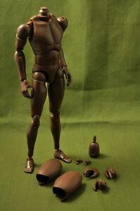 NEW-1-6-Male-Normal-Shoulder-Nude-Body-Figure-Black-Ver-B004