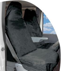 BLACK-VAN-SINGLE-SEAT-COVERS-PROTECTOR-FOR-NISSAN-CABSTAR-00-06-WATERPROOF-1V
