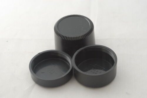 New Three M39 Plastic Rear Caps Set, Deep, Medium Depth and Normal For Leica SM