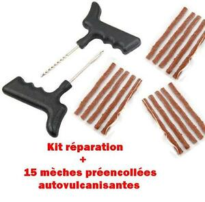 kit reparation pneu tubeless 15 meches cheville pour. Black Bedroom Furniture Sets. Home Design Ideas