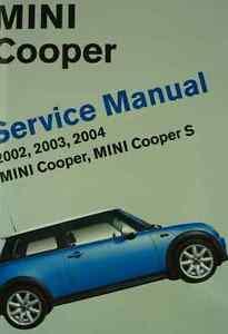 2002 2003 2004 mini cooper mini copper s service repair. Black Bedroom Furniture Sets. Home Design Ideas