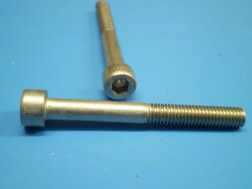 Edelstahl V2A DIN 912 Innensechskant Gewinde Schrauben M6 x 8-150 mm  Rostfrei