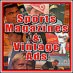 SPORTSMAGAZINES AND VINTAGE ADS