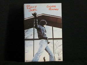 BILLY-JOEL-GLASS-HOUSES-Cassette-tape