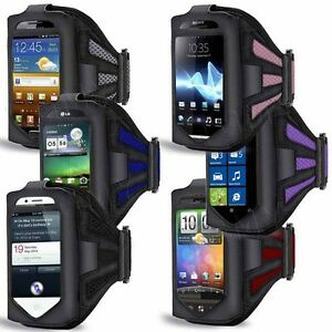 SPORTS-RUNNING-JOGGING-GYM-CYCLING-ARMBAND-CASE-POUCH-FOR-VARIOUS-MOBILE-PHONES