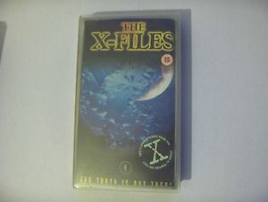 VHS Video  The XFILES  File 4 Ghost in the Machine  Ice - Gloucester, Gloucestershire, United Kingdom - VHS Video  The XFILES  File 4 Ghost in the Machine  Ice - Gloucester, Gloucestershire, United Kingdom