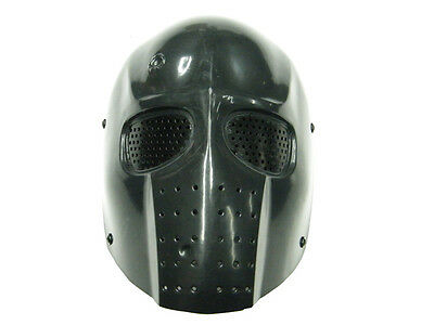 Brand New Army of Two Full Face Protection Black Metal Eyes Mesh Airsoft Mask