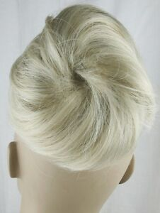 light blonde fake pony tail bun elastic hair piece extension scrunchie - Slough, United Kingdom - Return in 7 days, unused Most purchases from business sellers are protected by the Consumer Contract Regulations 2013 which give you the right to cancel the purchase within 14 days after the day you receive the item. Find out more - Slough, United Kingdom