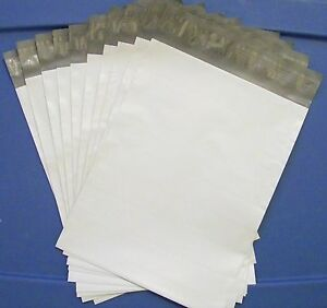 20-Poly-Mailers-size-10-034-x-13-034-Shipping-Bags-Plastic-Mailing-Envelopes-UPS-White
