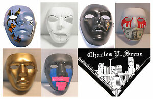 Hollywood-Undead-Masks-and-Bandana-Replicas