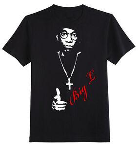 Big L T-Shirt - 50 Classic New York Rap Hip Hop Rip Vinyl Cent Tee | EBay
