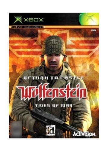 Return to castle Wolfenstein tides of war ( Xbox Original ) ( PAL )