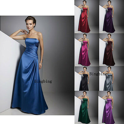NEW wedding dress evening dress bridesmaid dress gown ded prom party size 6-18