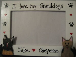 Personalized I Love My Granddogs Pet Photo Picture Frame Ebay
