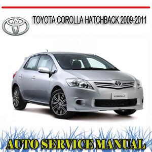 2011 toyota corolla s owners manual