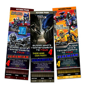 TRANSFORMERS-BIRTHDAY-PARTY-INVITATION-TICKET-FIRST-1ST-C2-1-2-3-PERSONALIZED
