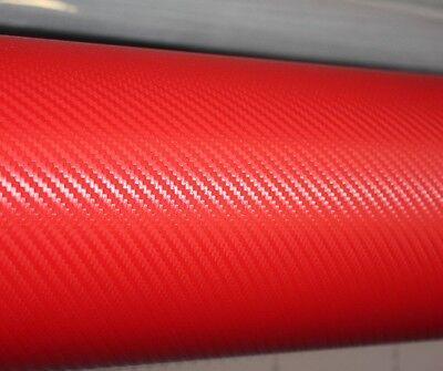 【1500mm X  300mm】ALL COLOUR Carbon Fibre Vinyl Sticker Sheet Wallpaper Car Van