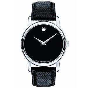 Movado-2100002-Mens-Watch-Black-Dial-Museum-Quartz-Leather-Strap