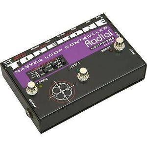radial tonebone loopbone guitar pedalboard controller ebay. Black Bedroom Furniture Sets. Home Design Ideas