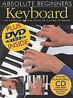Absolute Beginners Keyboard: The complete Picture Guide to Playing Keyboard by Jeff Hammer (Paperback, 2005)