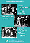 Luigi Pirandello in the Theatre: A Documentary Record by Susan Bassnett, Jennifer Lorch, Susan Bassnett-McGuire (Paperback, 1993)