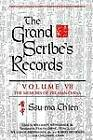 The Grand Scribe's Records: The Basic Annals of Pre-Han China by Ssu-Ma Ch'ien (Hardback, 1995)