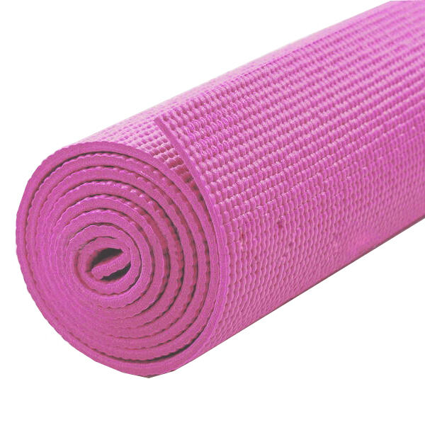 183cm long x 61cm wide! Non-Slip Yoga Mat, and Exercise/Gym/Camping blue & pink!