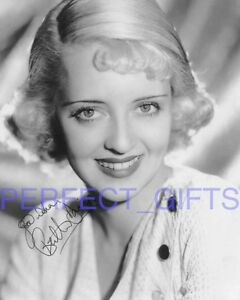 BETTE-DAVIS-ALL-ABOUT-EVE-SIGNED-10X8-PP-REPRO-PHOTO-PRINT-N2