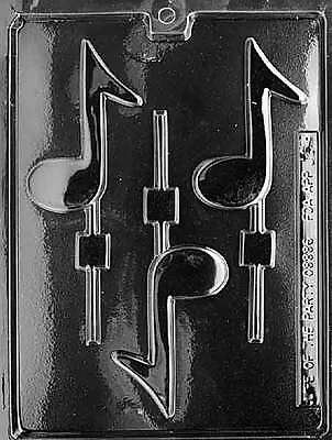 MUSIC NOTE LOLLY POP mold Chocolate Candy molds party party class singer