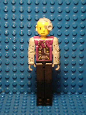 LEGO LEGOS  -  One LEGO Technic Figure Cybor Person with Cyborg Eyepiece
