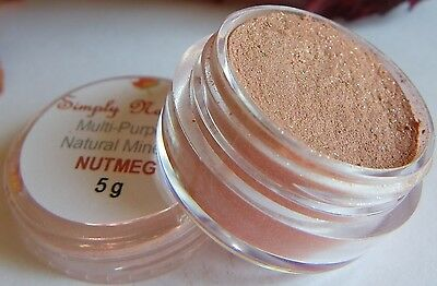 Mineral Pure Eye Shadow/Liner NUTMEG ♥ Full Jar ♥