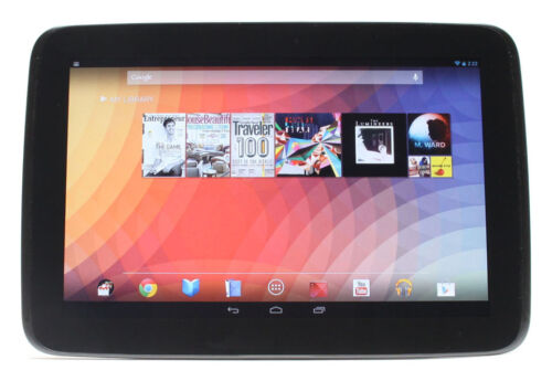NEW SAMSUNG GOOGLE NEXUS 10 BLACK 16GB WiFi TABLET COMPUTER PC UK
