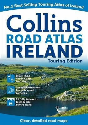 Collins Road Atlas Ireland: Touring Edition (Collins Travel Guides), Collins UK,
