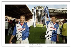 CHRIS-SUTTON-AND-ALAN-SHEARER-BLACKBURN-ROVERS-SIGNED-PHOTO-PRINT-POSTER