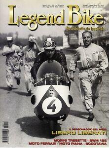 113-2002 Legend Bike MORINI TRESETTE 175- HARLEY-DAVIDSON V-ROD - MOTO FERRARI - Italia - 113-2002 Legend Bike MORINI TRESETTE 175- HARLEY-DAVIDSON V-ROD - MOTO FERRARI - Italia