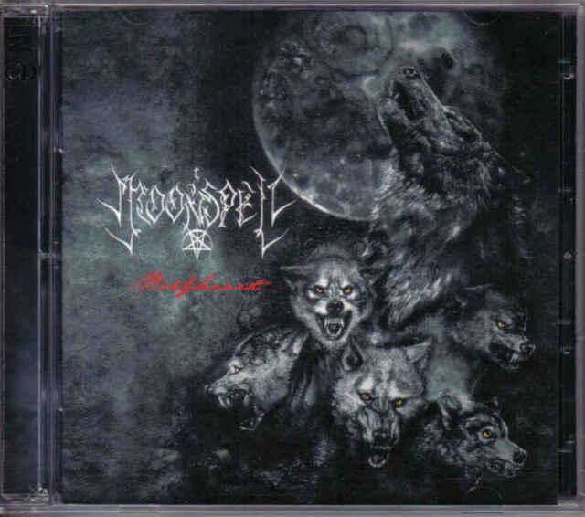 MOONSPELL WOLFHEART SEALED 2 CD SET NEW