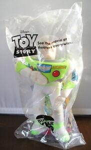 Buzz-Lightyear-Toy-Story-Pals-Disney-Pixar-Plush-New-in-Bag-Burger-King-Premium
