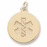 10k-Solid-Gold-Medical-Medic-Id-Alert-Pendant-Necklace-FREE-ENGRAVING