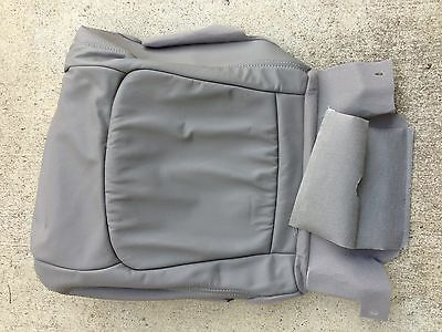 NEW OEM HONDA ACCORD LEATHER SEAT REPLACEMENT COVER 98-02 LOWER GREY LH OR RH