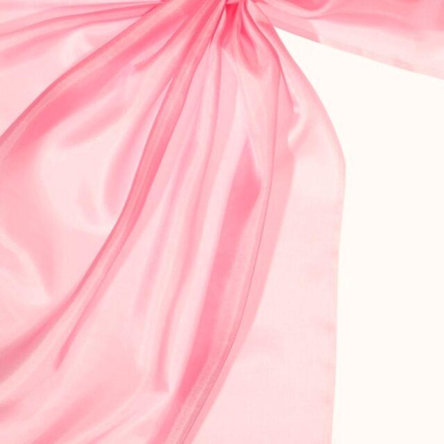 Seidentuch 100% Seide rosa Nickituch 55 x 55 cm Pongé 05 Seidentücher