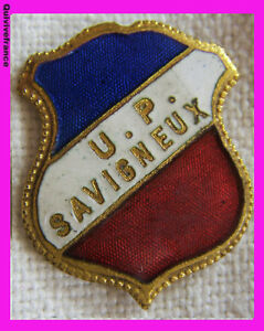 BG3688-INSIGNE-TRICOLORE-UNION-PHILHARMONIQUE-DE-SAVIGNEUX