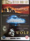 Wolf/John Carpenter's Vampires/Mary Shelley's Frankenstein (DVD, 2006)