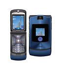 Motorola  RAZR V3i - Blau (Ohne Simlock) Handy
