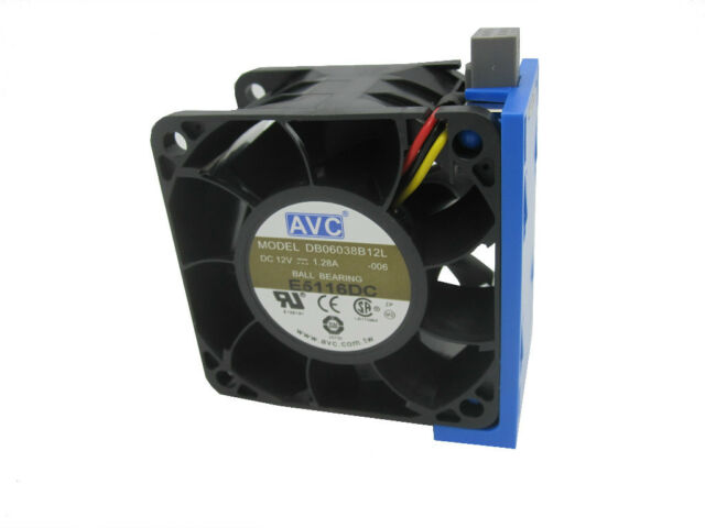 AVC 60/60/38 mm 8000RPM 53CFM 3pin Hot-Swap Modular Server Case Fan DB06038B12L