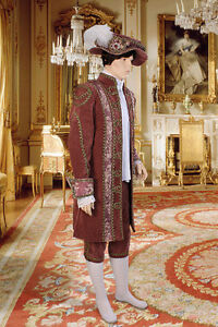 Courtier-039-s-Renaissance-Jacket-Handmade-from-Antique-Velvet-and-Brocade