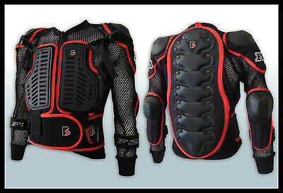 MX Motocross Youth Pressure Suit Body Armour Off-road/Dirt Bike/BMX Junior/kid